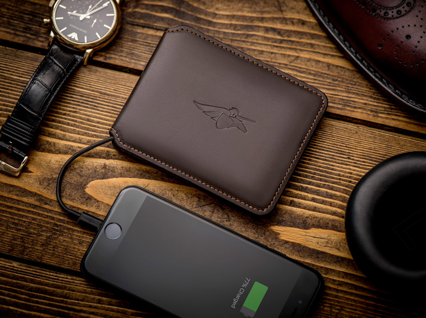 Volterman Smart Wallet - Crowdfunding campaigns